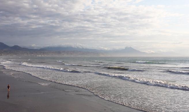 Lloviendo Playa de San Juan 02