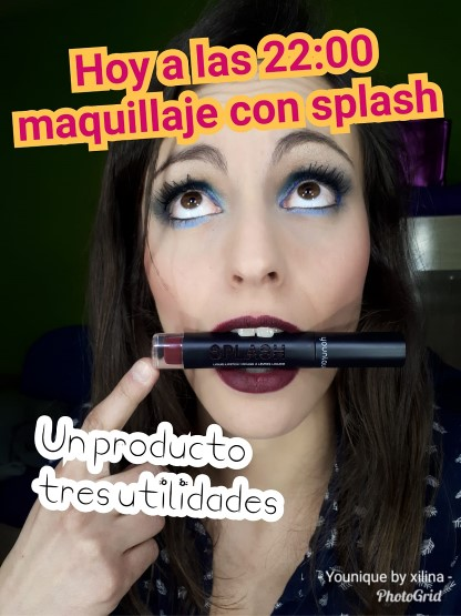 Younique by Mónica Maquillaje con Splash